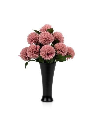 Çiçekmisin Fransız Style Vazoda Top Karanfil Demet Yapay Çiçek Pembe